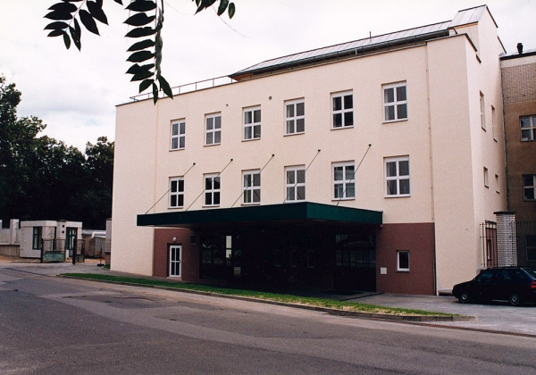 University hospital Královské Vinohrady – Annex of ARC (anaesthesiological  and resuscitation clinic)