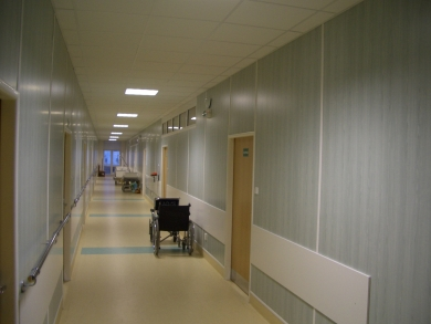 UVN SNP Ružomberok - Renovation and extension of the surgical pavilion – 2nd stage